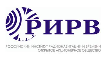 Российский институт радионавигации и времени лого